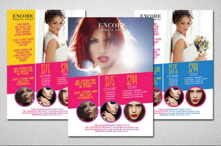 colorful-salon-flyer-template