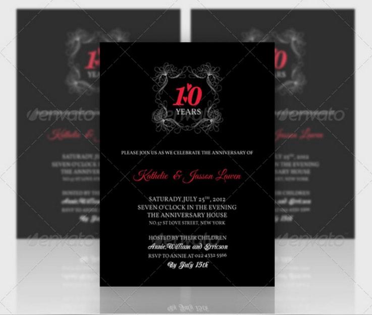 creative-anniversary-invitation-template