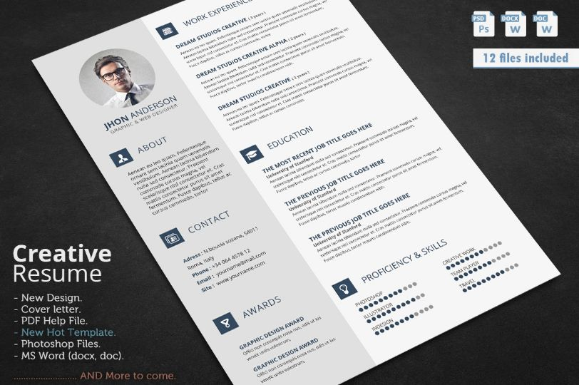 civil engineer resume template word psd and indesign