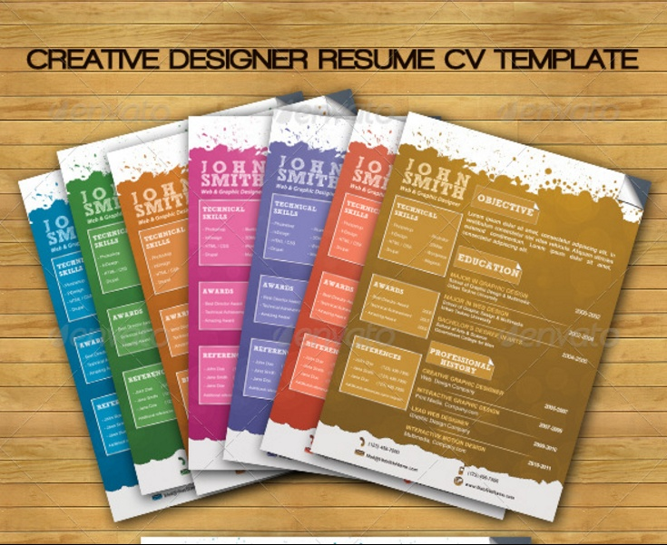 creative-layered-resume-template