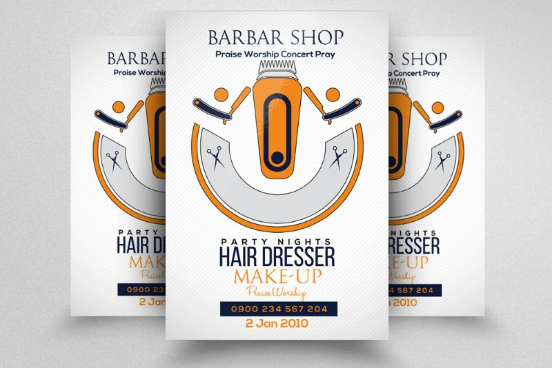 customizable-barber-shop-flyer-template