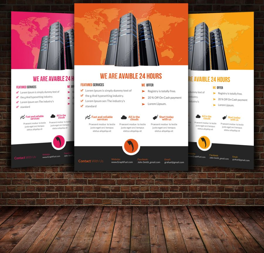 Customizable Product Flyer Template