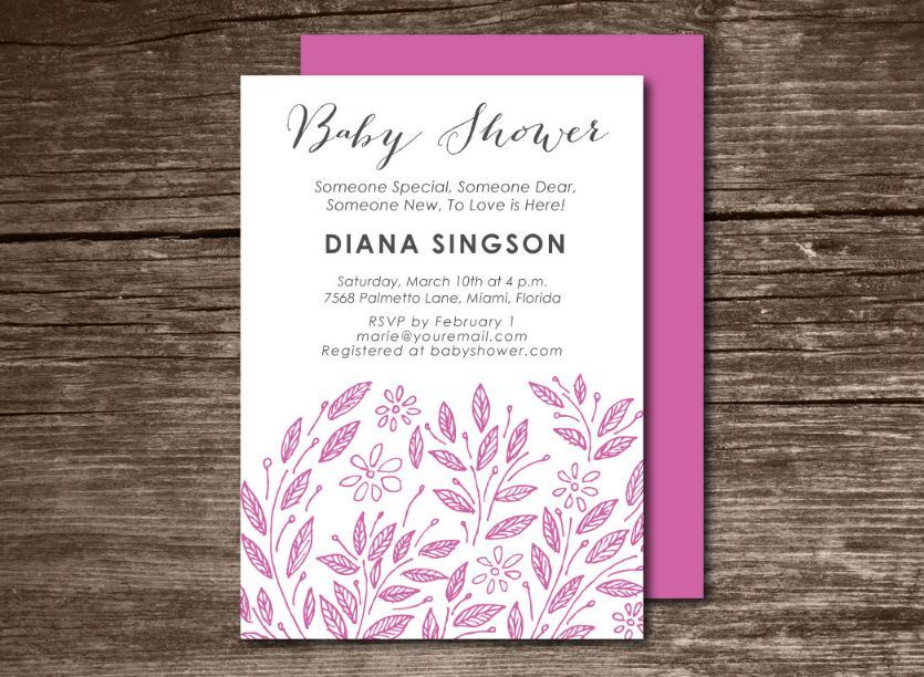 decorative-baby-shower-invitation-template