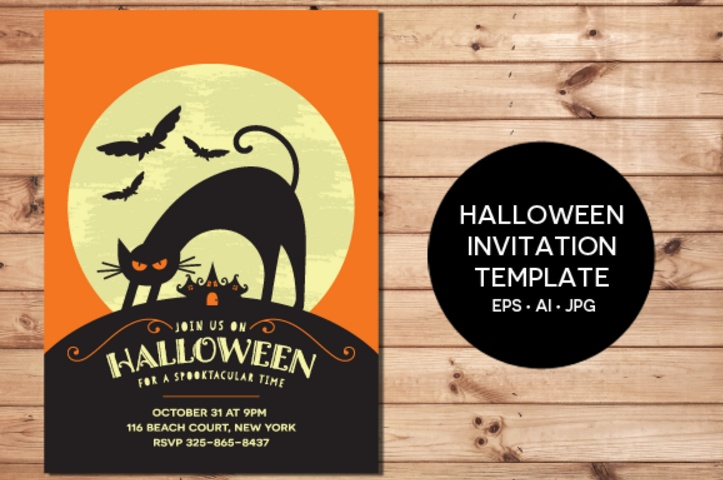 20+ Halloween Invitation Template Psd, Word, Vector Eps And Ai