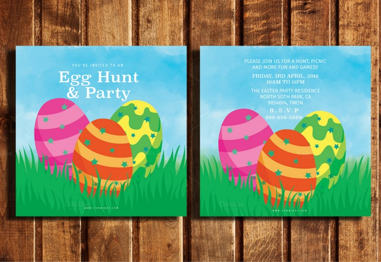 easter-hunt-party-template