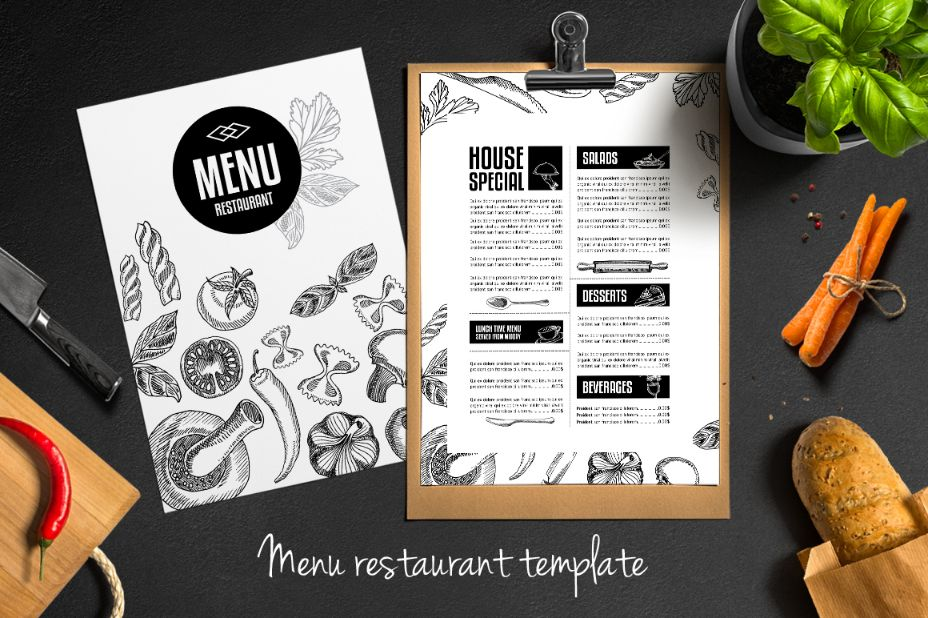 easy-editable-food-brochure-template