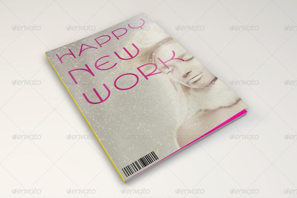 Easy Editable Magazine Cover Mockup