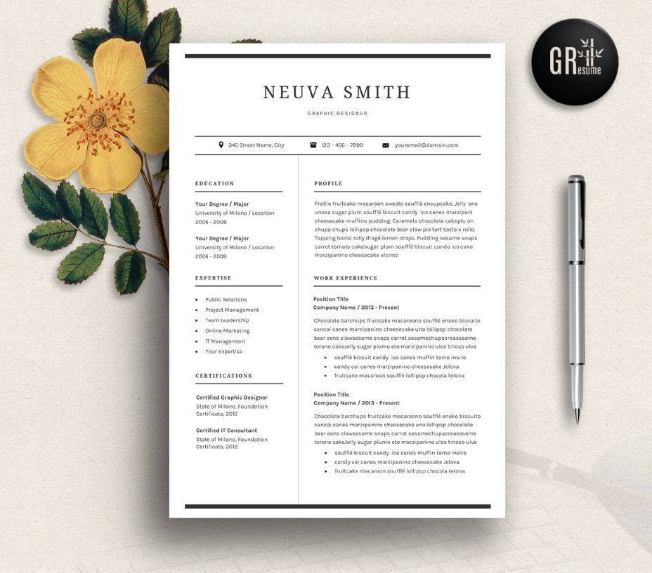 editable-graphic-designer-resume-template