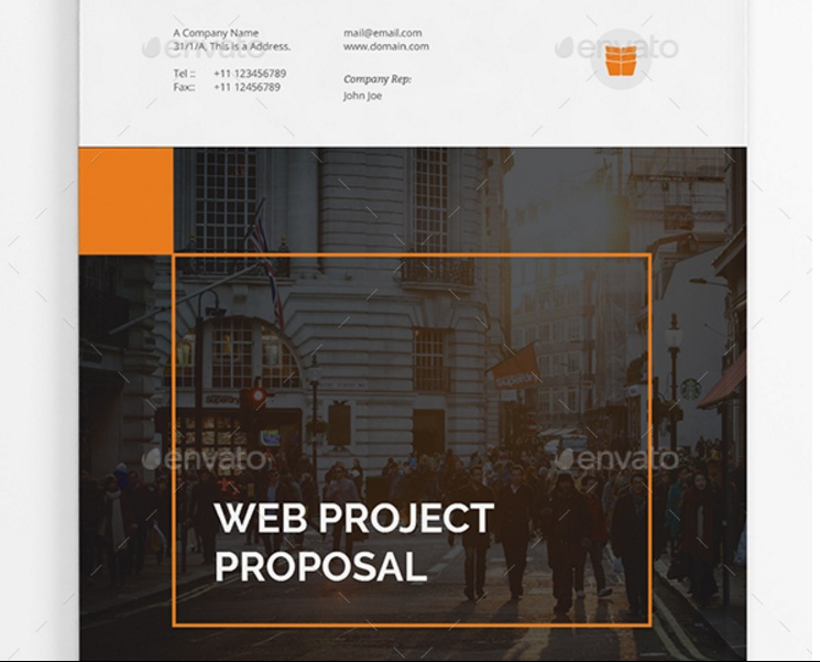 Editable Web Project Proposal Template