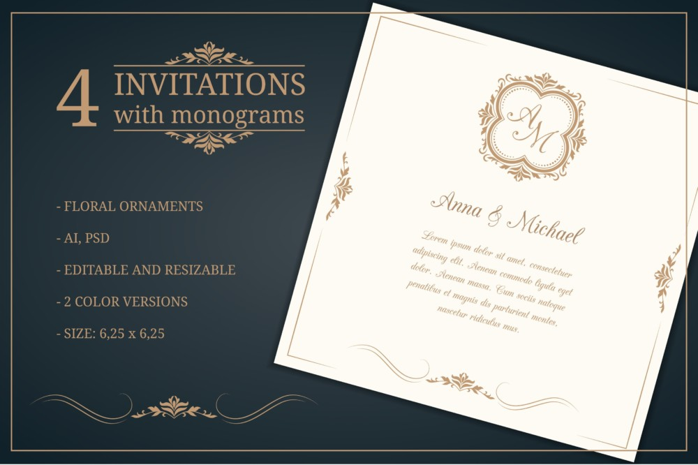 Wedding Invitation Card Template - 10+ PSD, AI and Vector ...