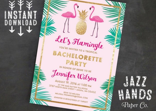 elegant-bachelorette-invitation-template