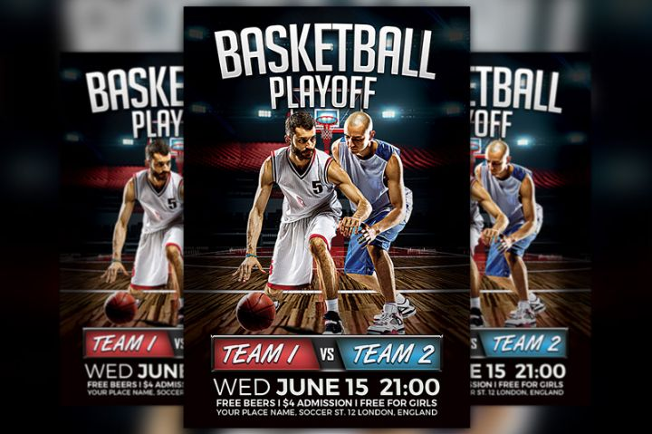 elegant-basketball-playoff-template