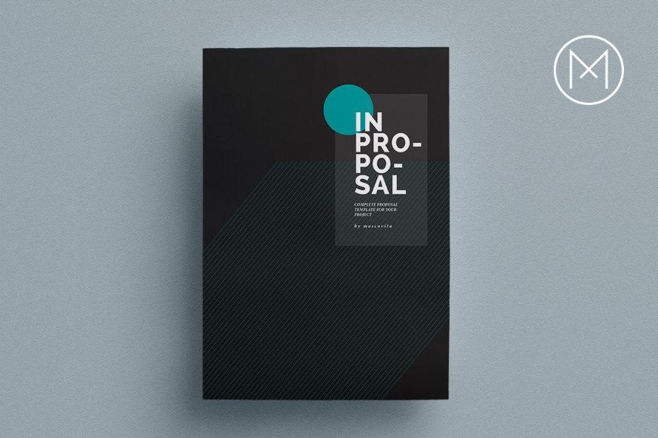 Elegant InDesign Project Proposal Template