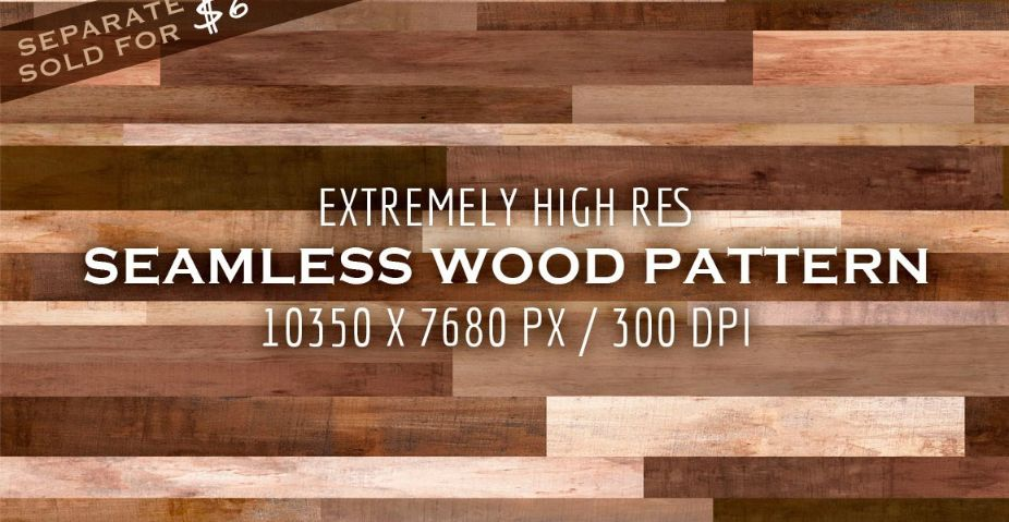 Extremely Seamless Wood Textre