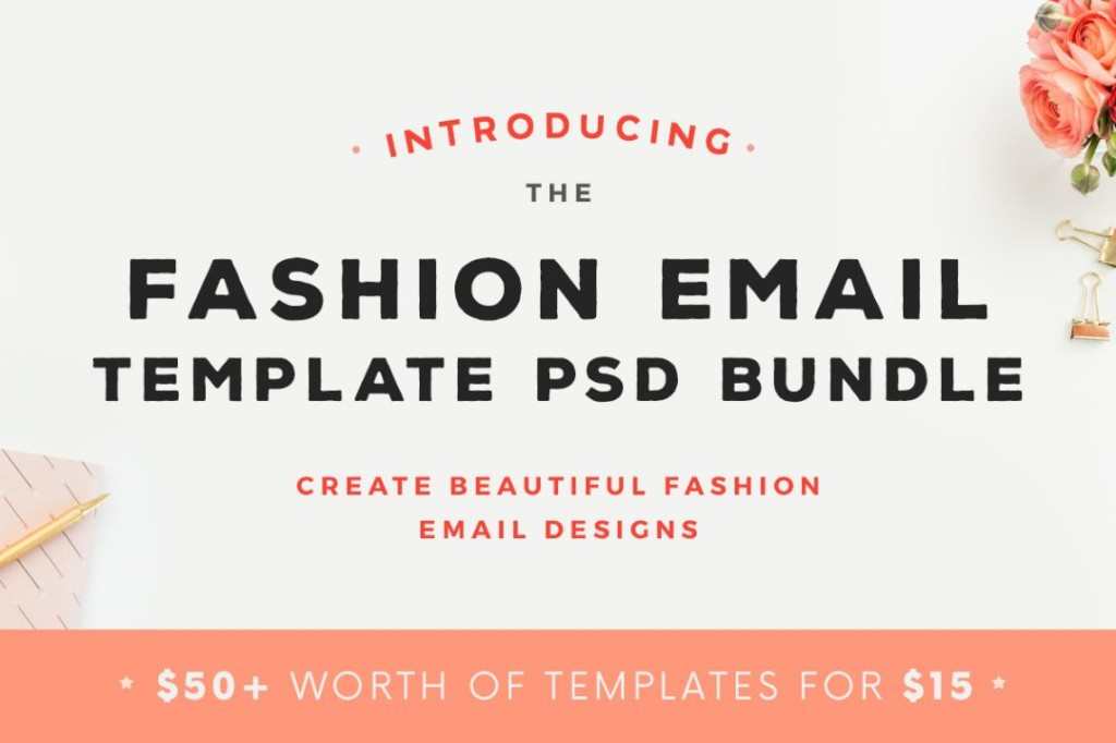 fashion-email-newsletter-template-bundle