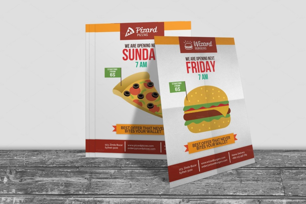 fast-food-opening-flyer-template