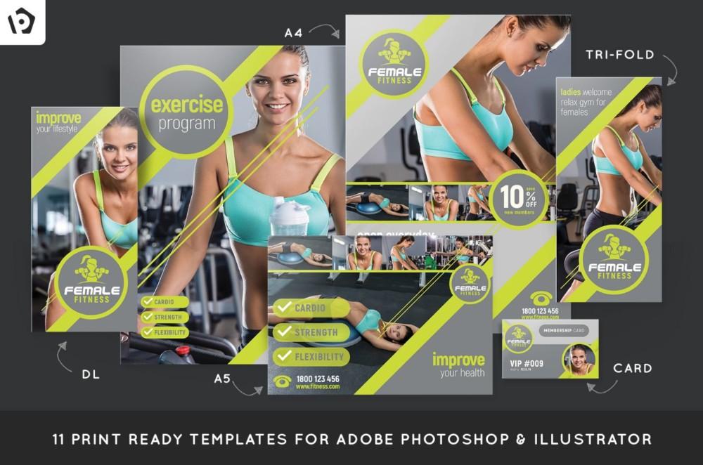 female-fitness-brochure-template-pack