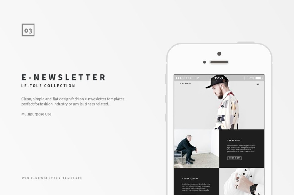 flat-email-newsletter-template-psd
