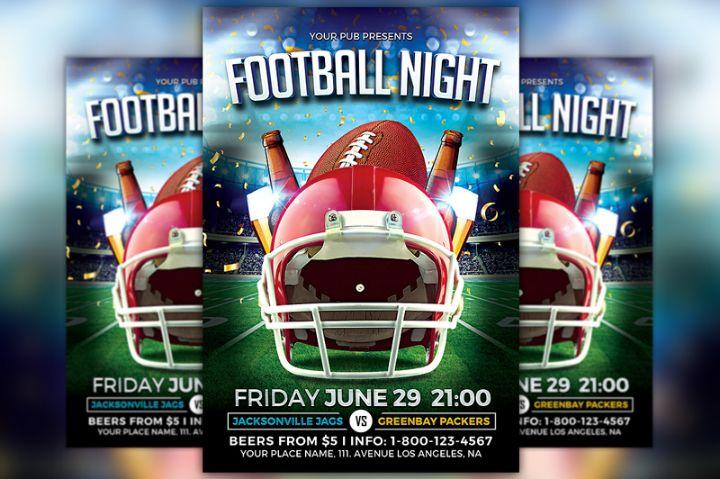football-night-flyer-template-psd