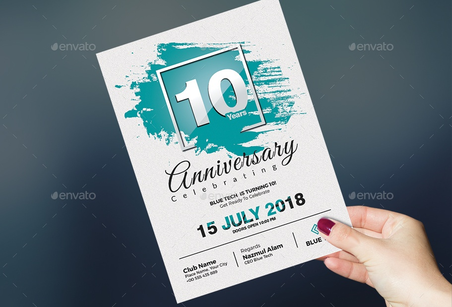 fully-customizable-anniversary-invitation-template