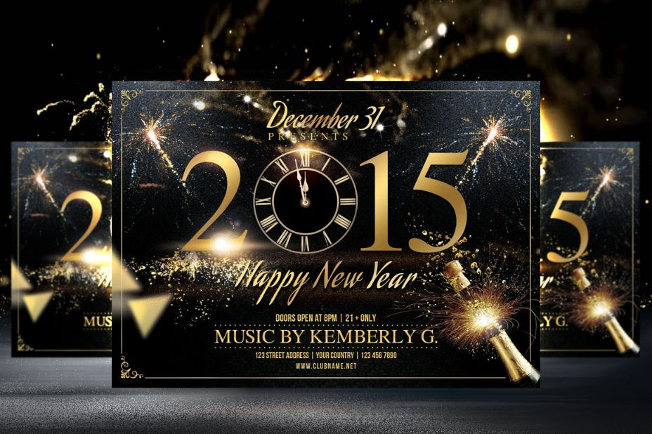 fully-editable-new-year-flyer-template