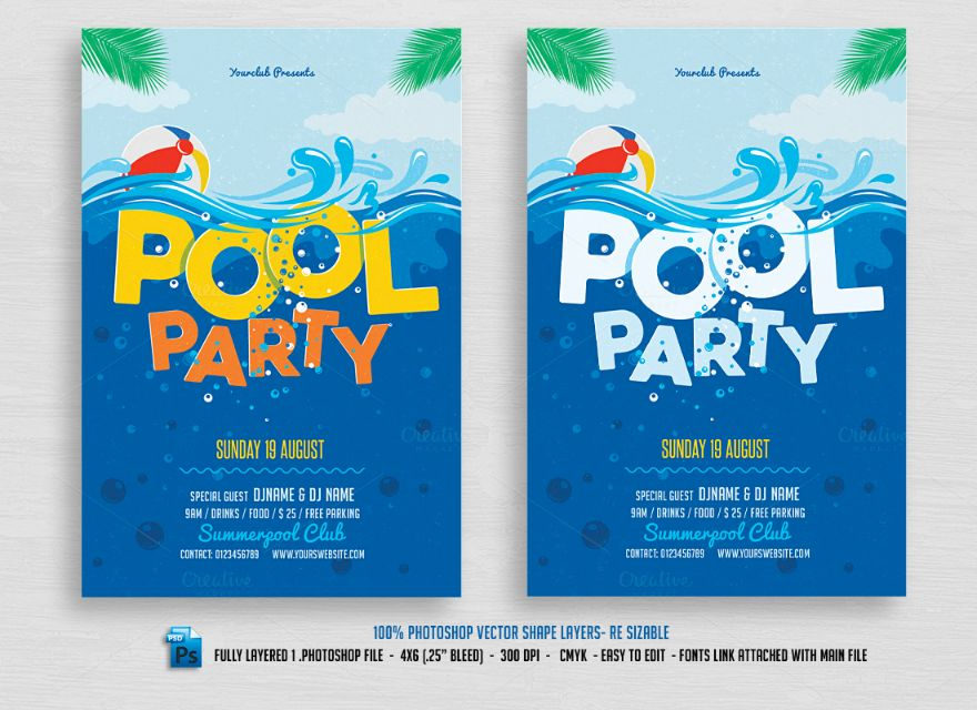 fully-editable-pool-party-invitation-template