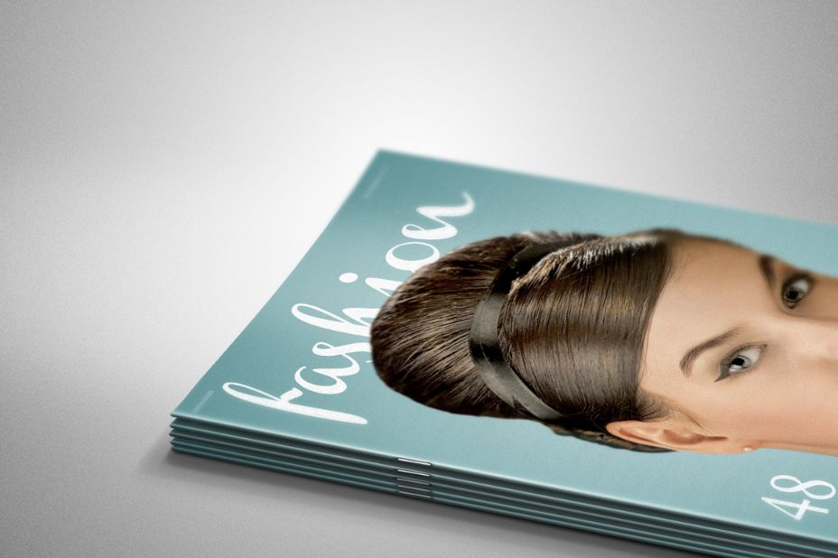 Fully Layered Brochure Cover Mockup