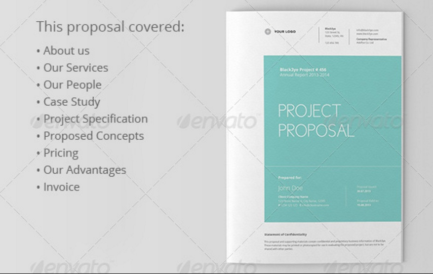 Fully Layered Project Proposal Template
