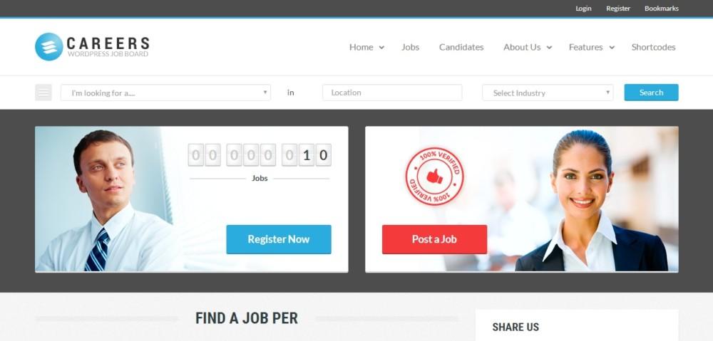 fully-responsive-wordpress-job-portal-theme