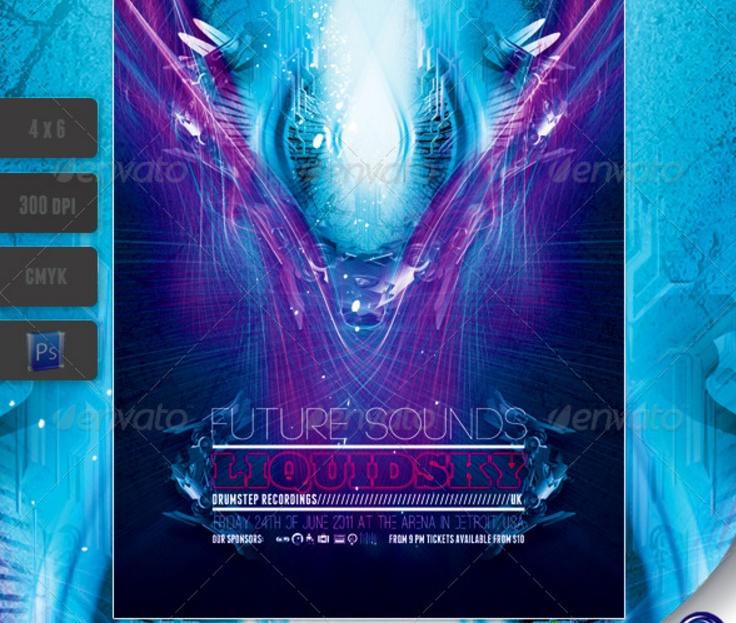 futuristic-club-flyer-template