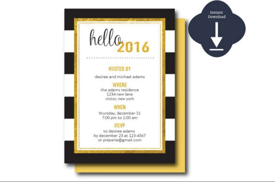 gold-and-black-open-house-invitation-template