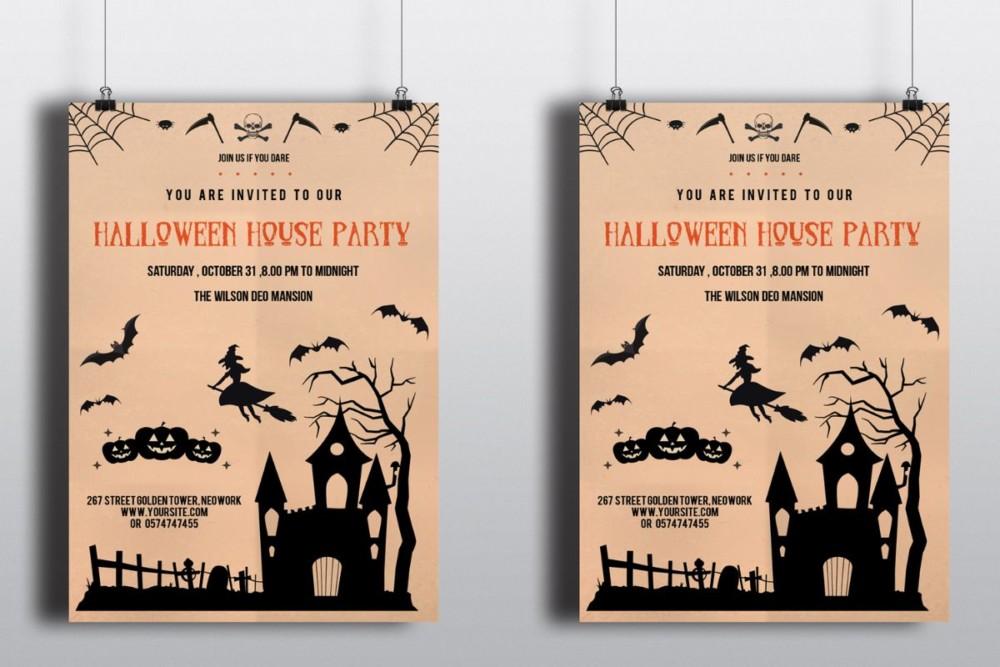 halloween-house-invitation-template-psd