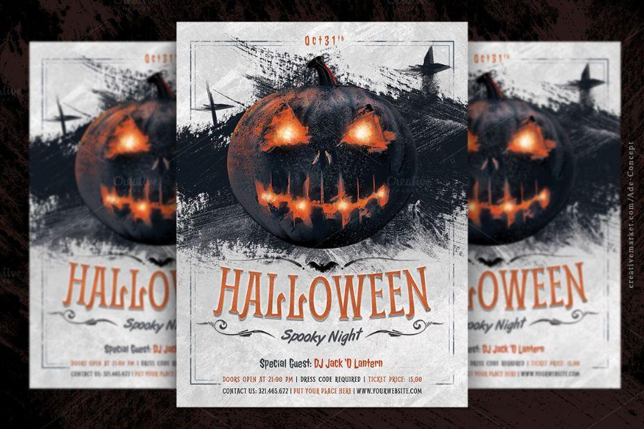 halloween-night-invitation-template