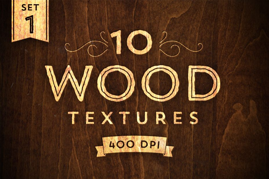 High Resolution Wood Texture Pack