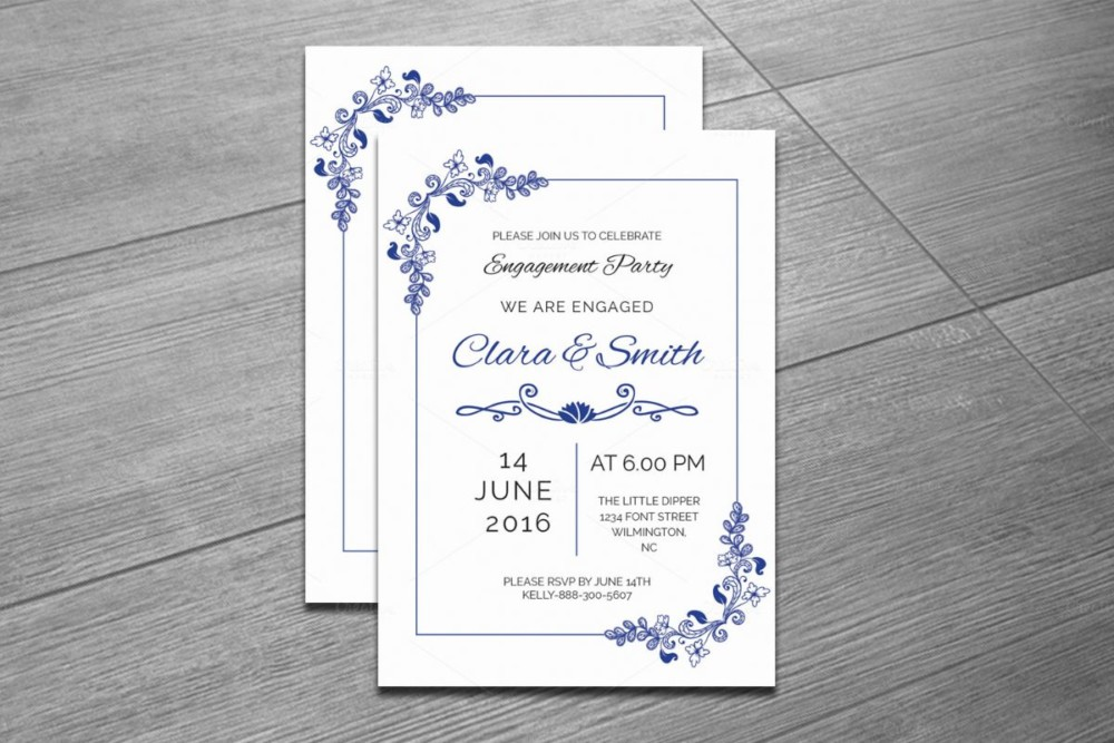 indesign-and-word-engagement-invitation-template
