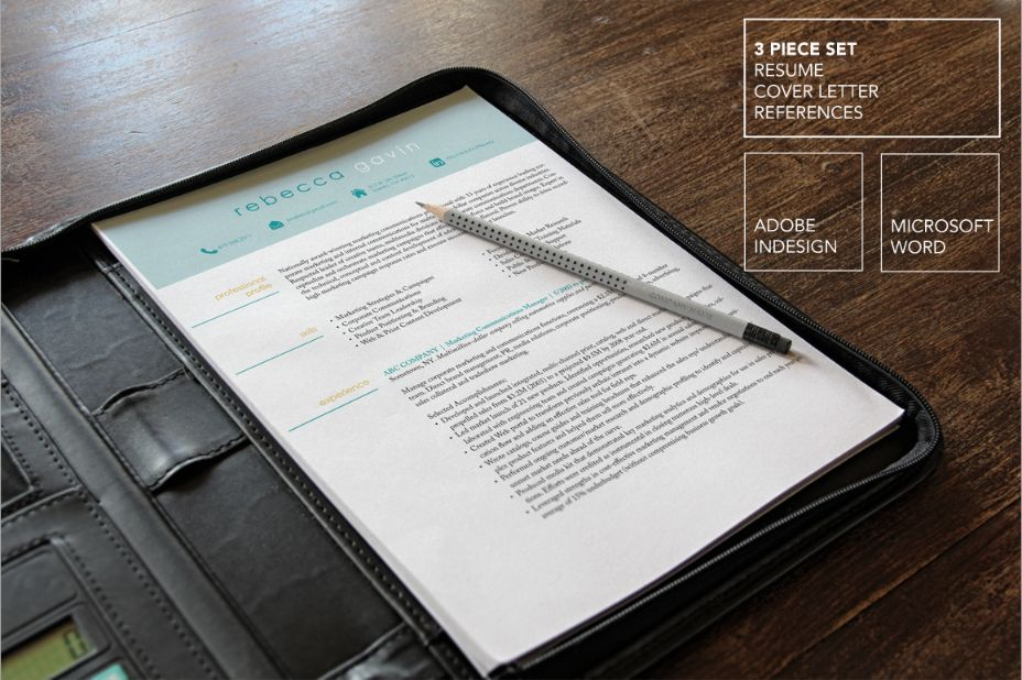 indesign-and-word-mba-resume-template