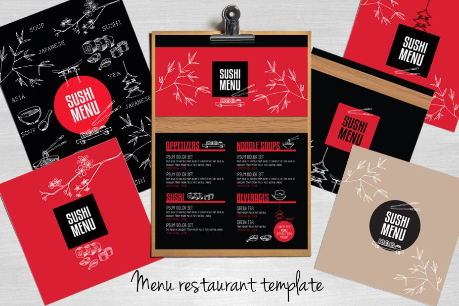 infographic-food-brochure-template