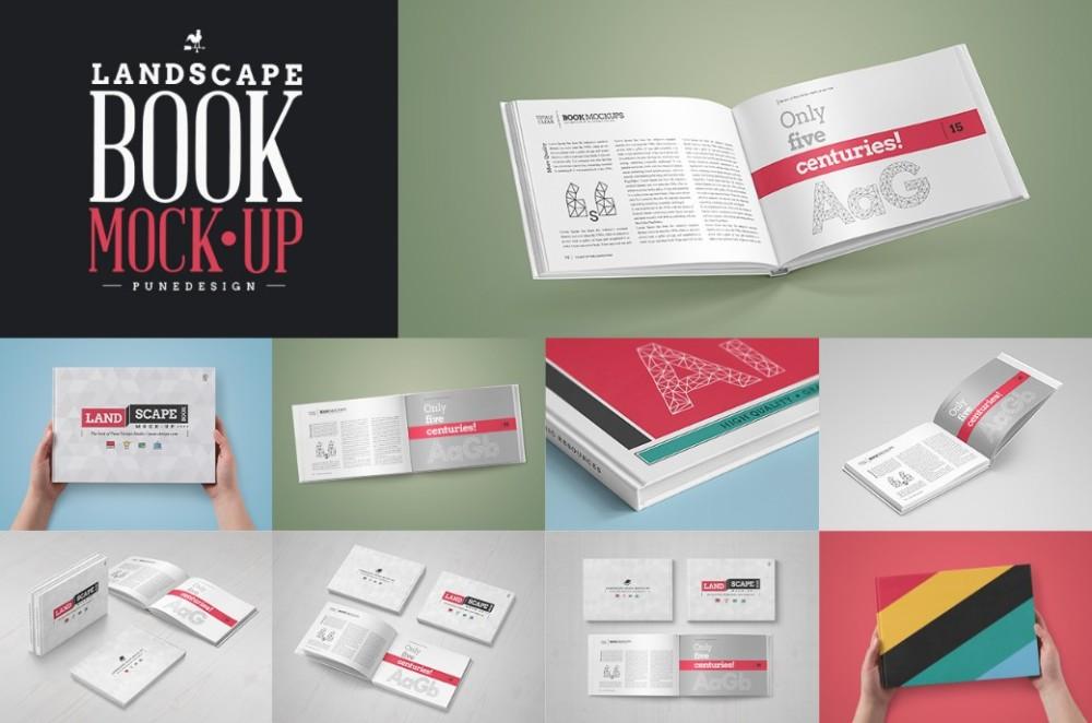 landscape-book-mockup-psd