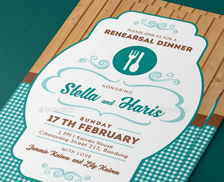 5 Lunch Invitation Template Psd Word And Ai Format Graphic Cloud