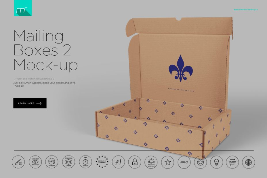 Realistic Box Mockup Psd Designs For Designers Graphic Cloud