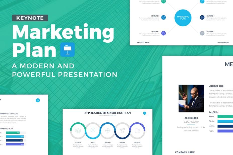 marketing-plan-keynote-template