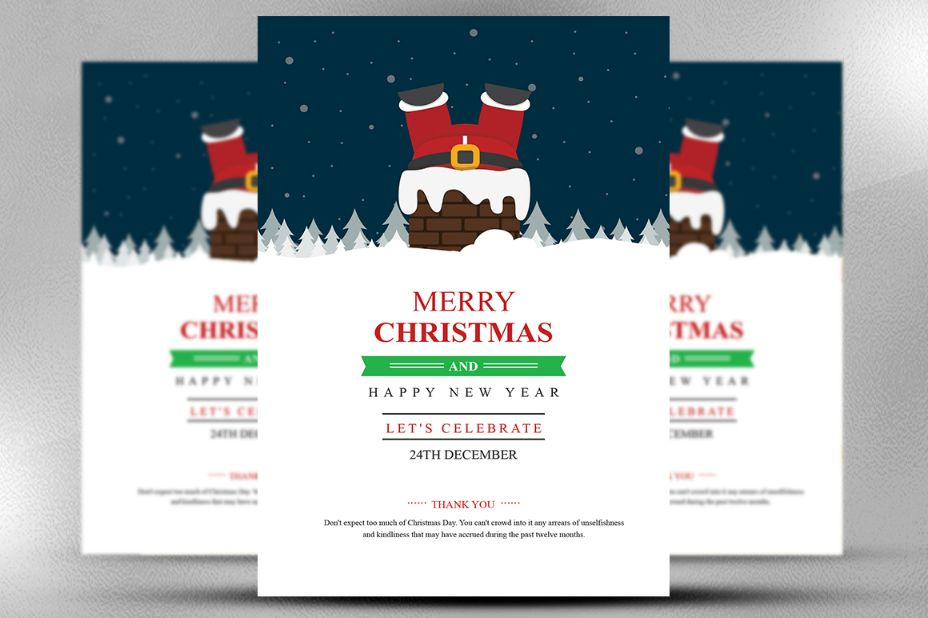 Christmas Flyer Template Psd Vector Eps And Indesign Format