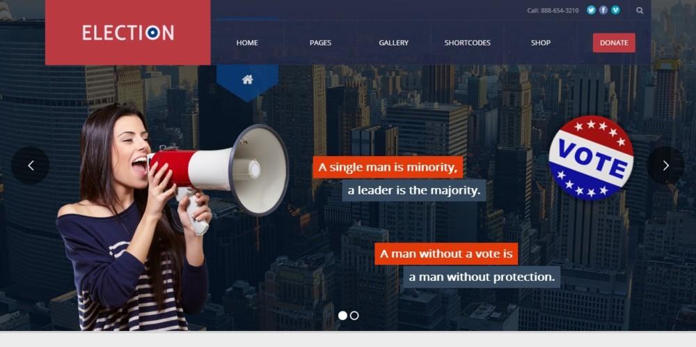 mobile-friendly-political-wordpress-theme