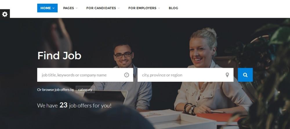 mobile-ready-wordpress-job-portal-theme