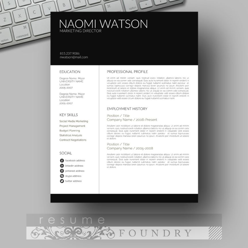 moden-seo-analyst-resume-template