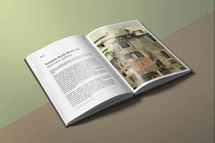 Photo Realistic Book Mockup