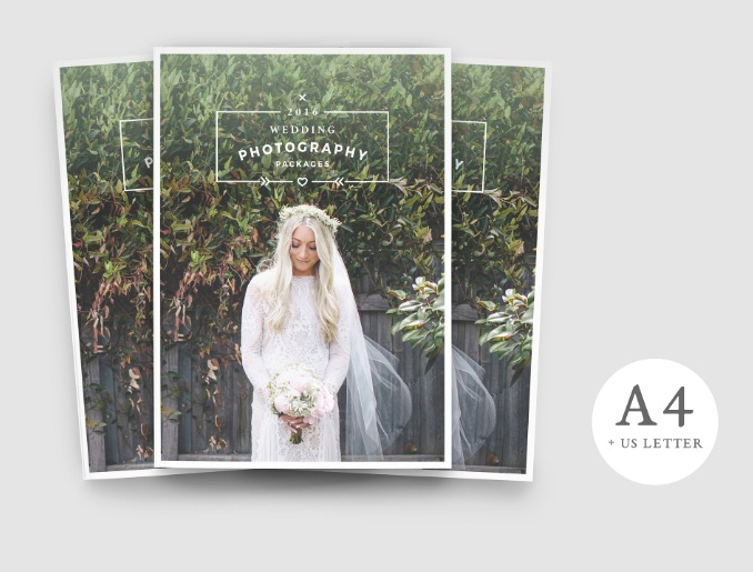 Photography Brochure Template PSD