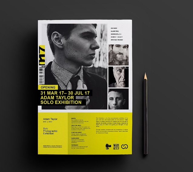 Photography Exhibition Template PSD