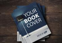 Realistic Book Cover Mockup