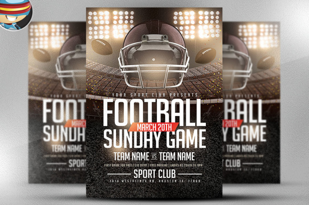 football-sundays-flyer-template-cm